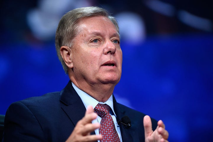 "Lindsey Graham Says He's ""Very Worried"" By Trump's Wiretapping Claim"