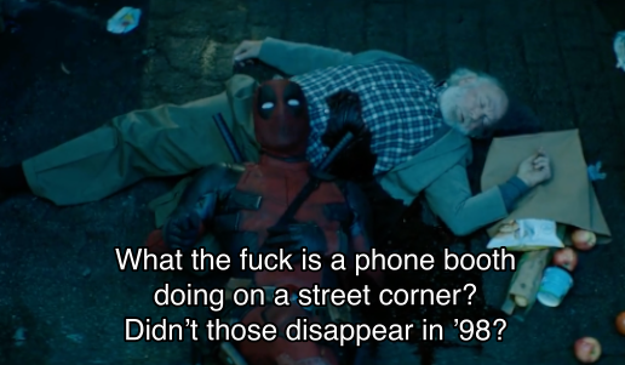 Which leads Deadpool to ponder this important question: