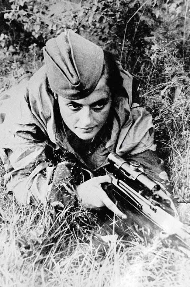 Lyudmila Pavlichenko (1916-1974)