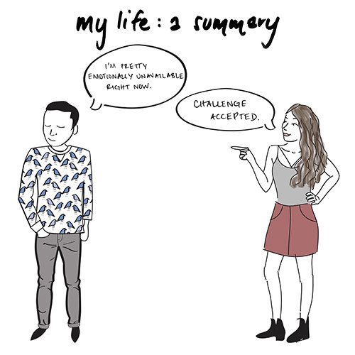 The poignant drawings bring up feelings that everyone can relate to...