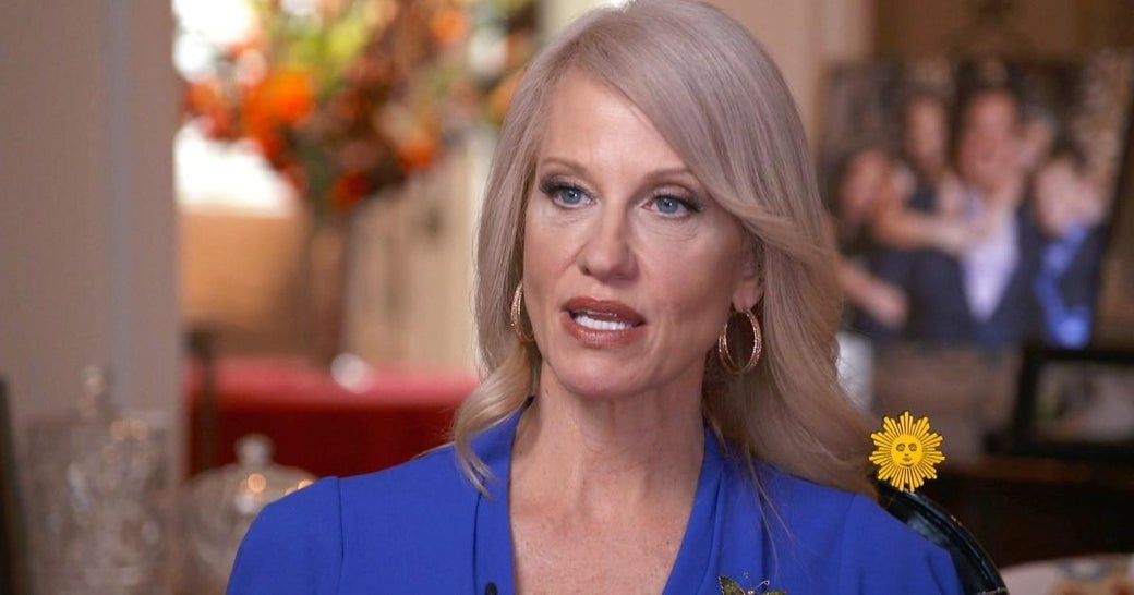 Image result for Conway Sits For Bizarre Live Interview & Refuses To Answer Questions (VIDEO)