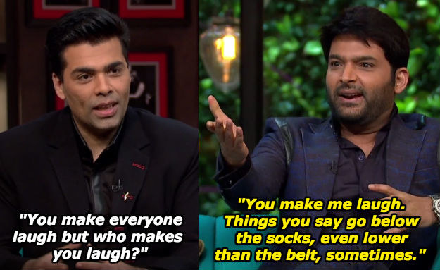 When he told Karan why the former makes him laugh.