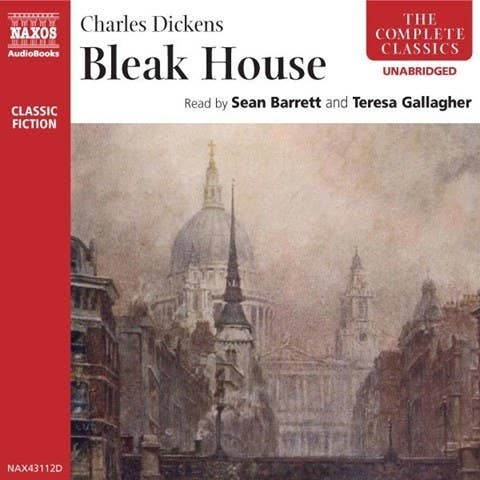 """""""I love reading Charles Dickens, but the books are gigantic. Bleak House, narrated by Sean Barrett, is fantastic, and a great way to plow through a classic without hurting your back.""""— Ailbhe MaloneGet it on Audible"""