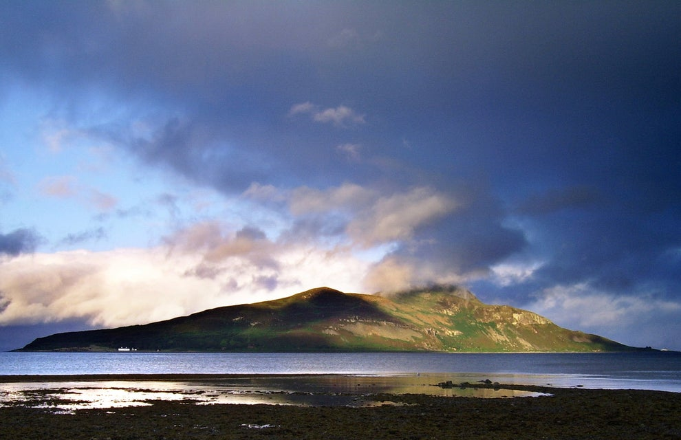 Take a boat trip to Holy Isle on Arran.