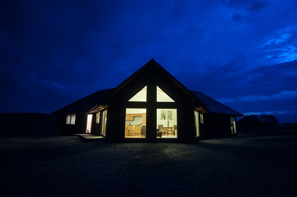 Stay at Monadh Spa Lodge on the Isle of Lewis.