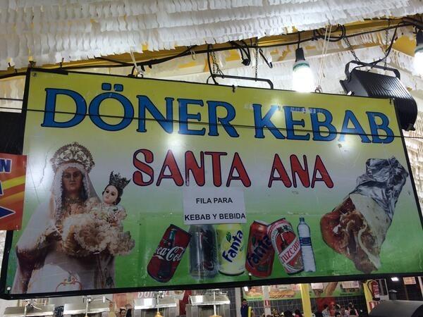 Esta mezcla de culturas tan inusual.