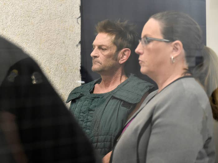 Suspect in Kansas bar shooting appears in court.