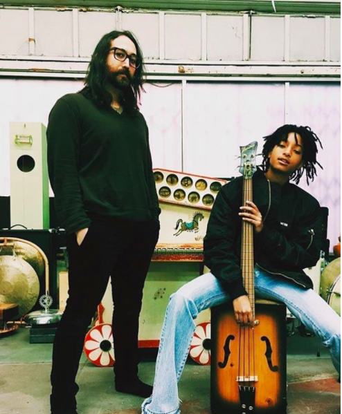 "To help record the song, Sean enlisted the help of one of his recent collaborators, Willow Smith, who Sean says ""was generous enough to lend her golden voice to this little tune."""