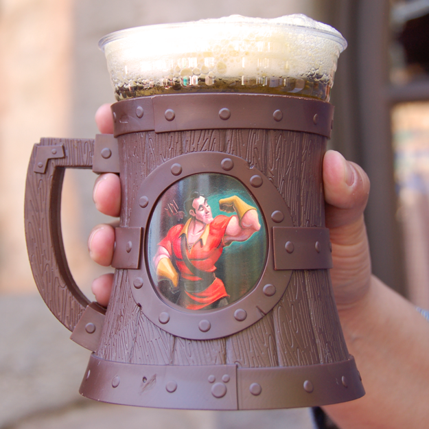 And no rustic meal would be complete without a mug of Gaston's Famous Brew – an apple and mango punch topped with passion fruit foam that's OMG SOOOOOO good.