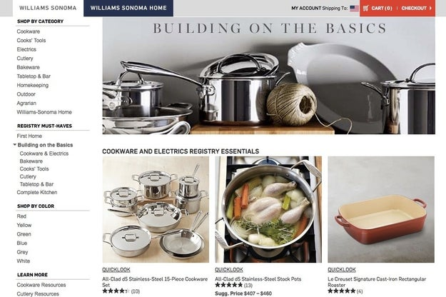 Williams-Sonoma, for achieving the ultimate in #kitchengoals.