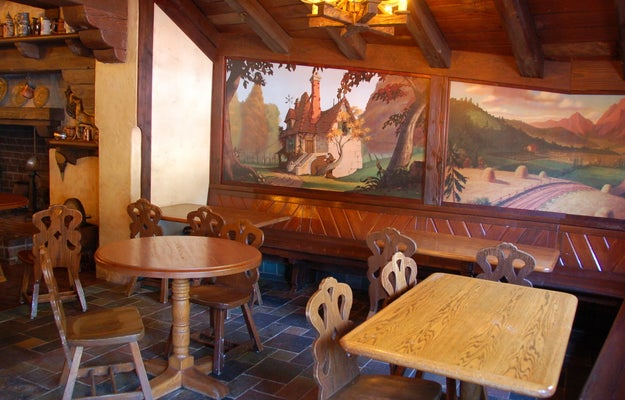 And the decor inside celebrates the iconic animated Beauty and the Beast film with gorgeous new murals...