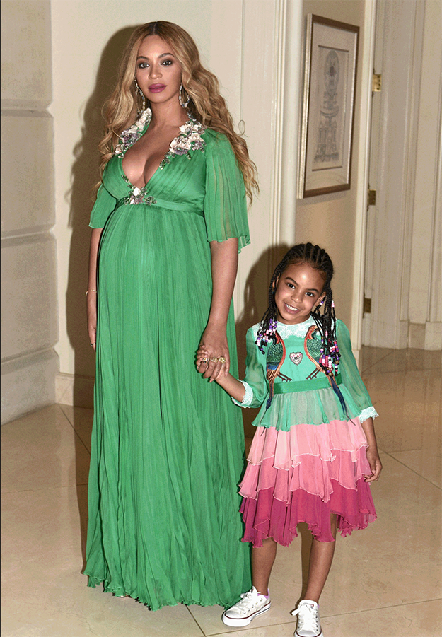 ...of her daughter, Blue Ivy.