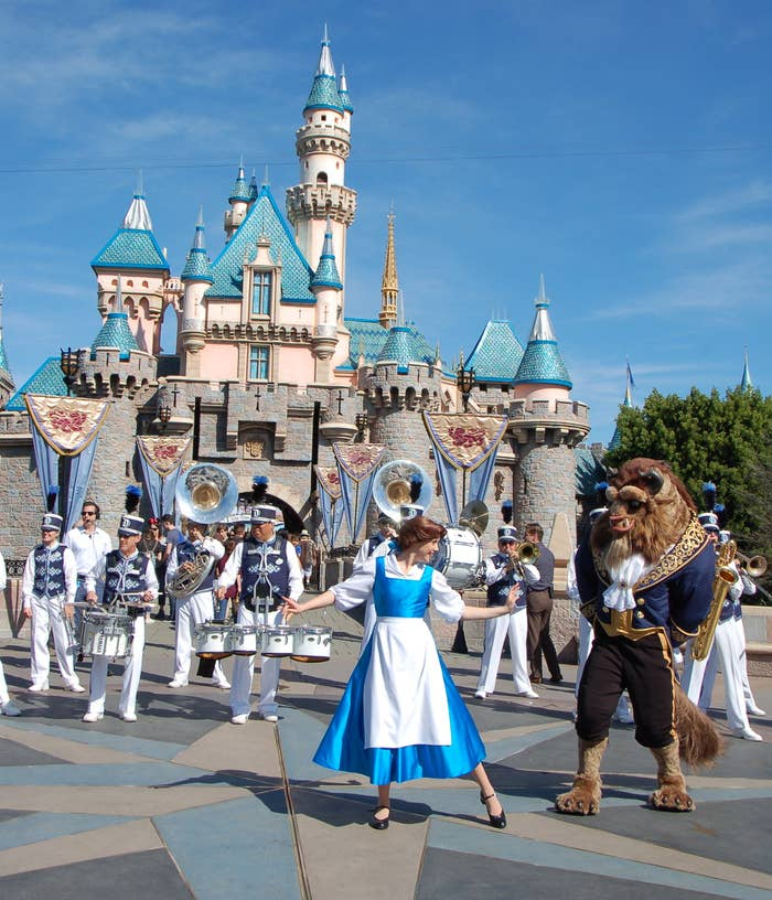 Here S What Disneyland S Enchanting Beauty And The Beast Makeover Looks Like