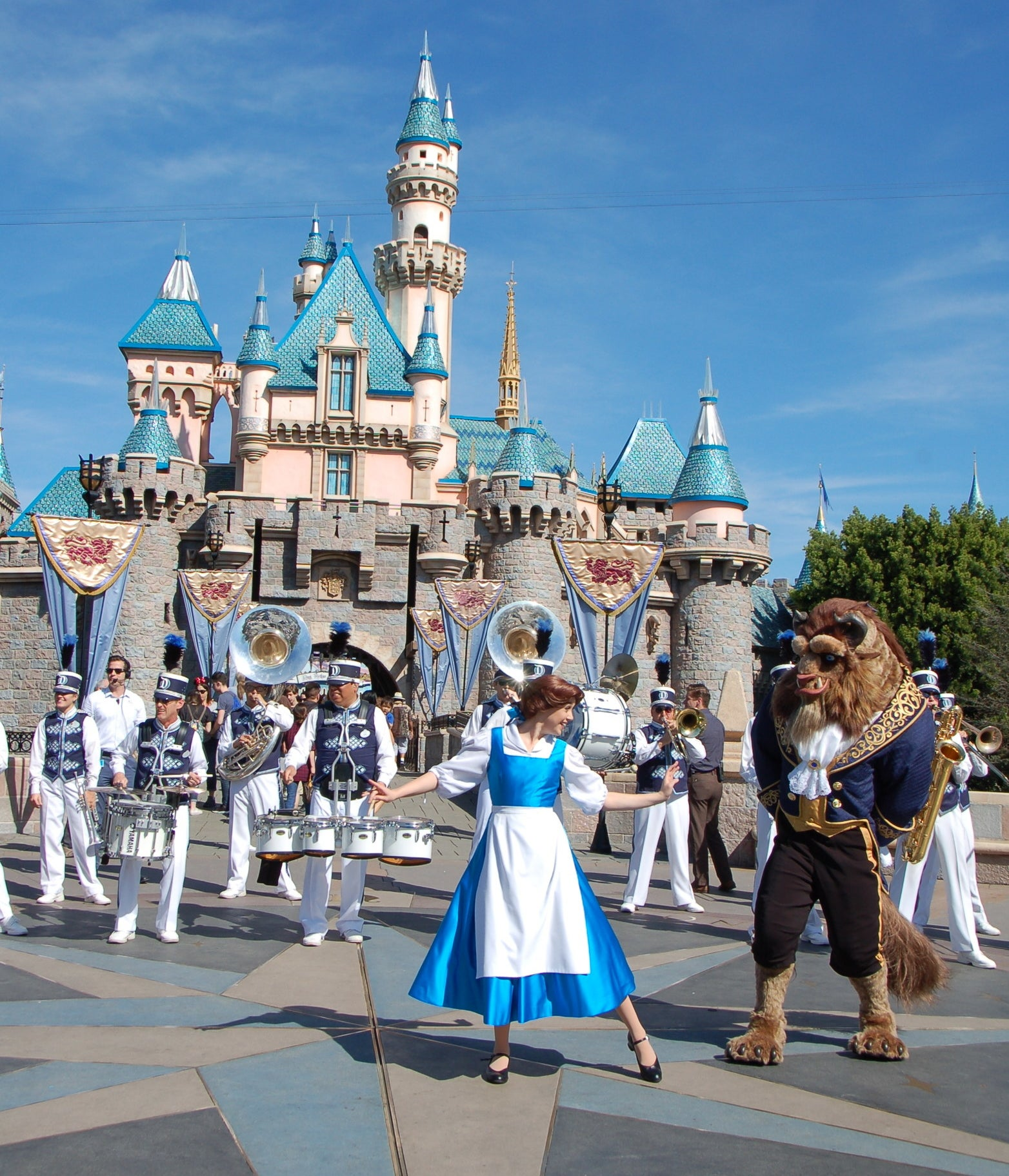 Image result for disneyland beauty and the beast
