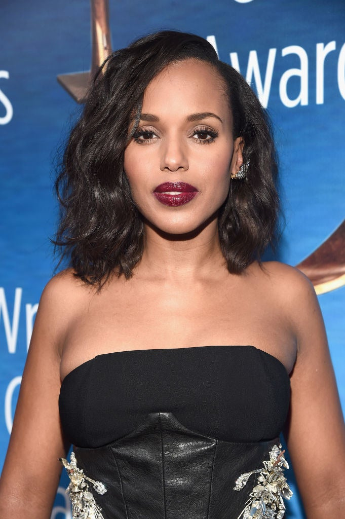 Kerry Washington's chest somehow hasn't impeded her ability to talk about  the impossibly high standards women are held to.