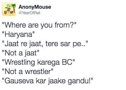 Image result for stereotype on haryana
