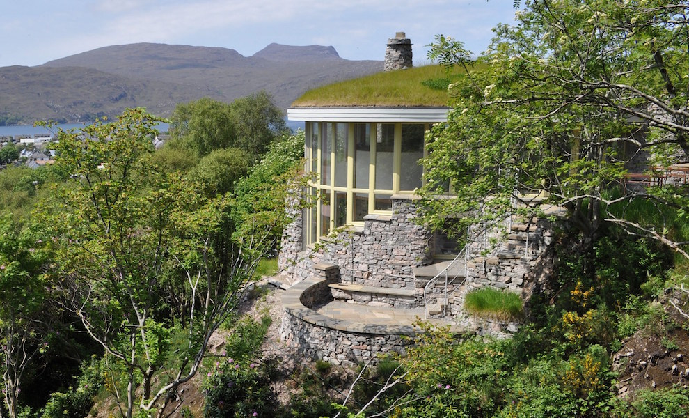 Spend a weekend at Treetop House in Ullapool.