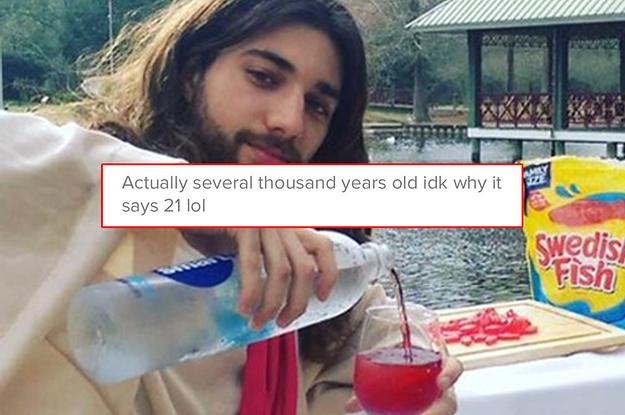 Jesus dating profile
