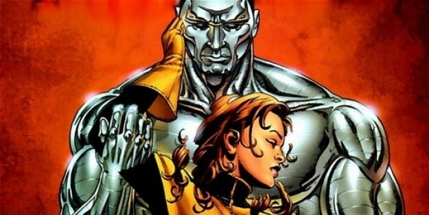 You never see the tortured romance of Colossus and Kitty Pryde.