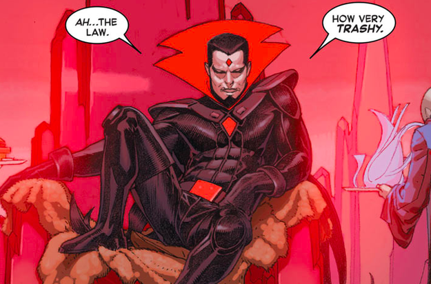 You never see Mister Sinister, the Machiavellian and ultra-glam geneticist obsessed with Cyclops and Jean Grey's genes.
