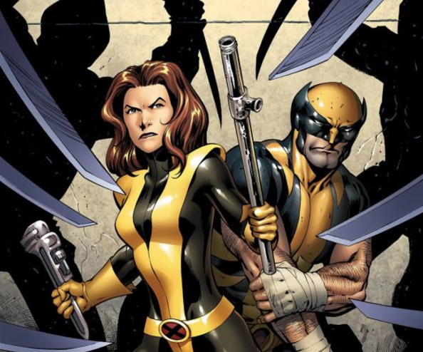 You never see Wolverine as Kitty Pryde's mentor.