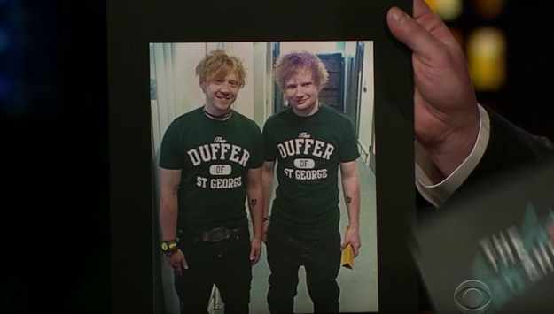 """When asked about the similarities, Not Ed Sheeran said, """"It's kinda 50/50 now. It's like if someone stops me, it could go either way. I could be Ed or I could be me."""""""