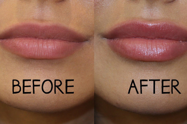 How to make my lips pink fast