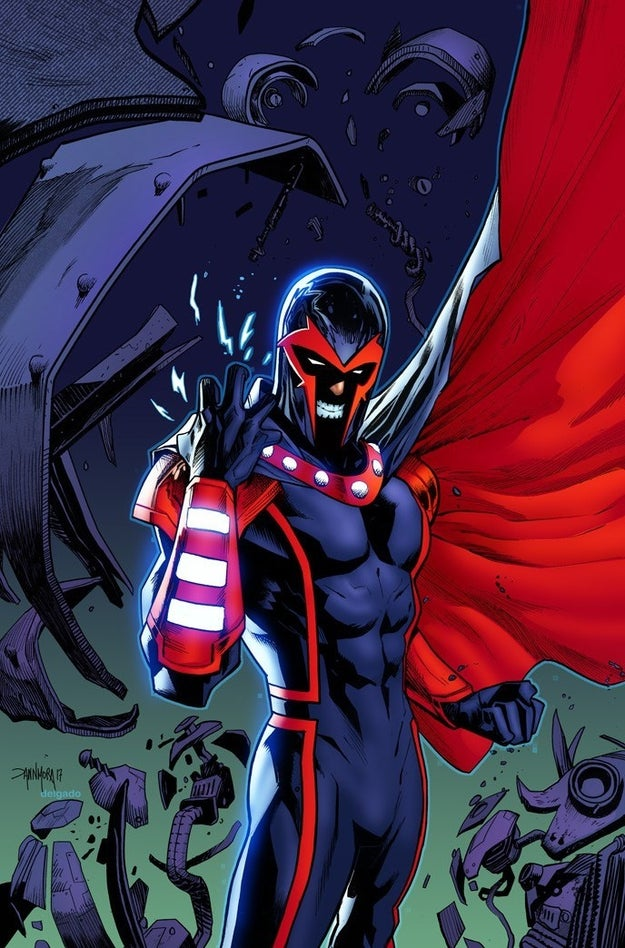 "The press released stated that a number of Marvel villains would be, ""Hydra's secret weapons in the war against the super heroes."" Included on the list was the character Magneto."