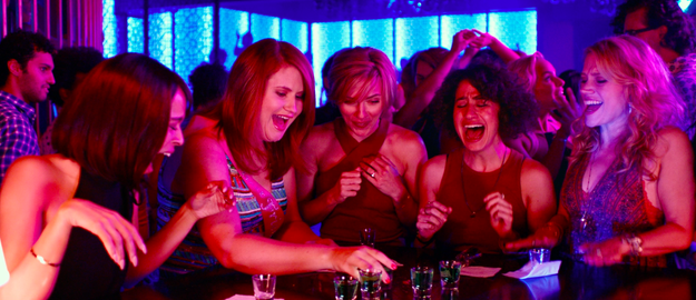 Johansson, Kate McKinnon, Zoe Kravitz, Jillian Bell, and Ilana Glazer star as five best friends who've grown apart since college, but reunite to throw Jess (Johansson) the ultimate bachelorette party.