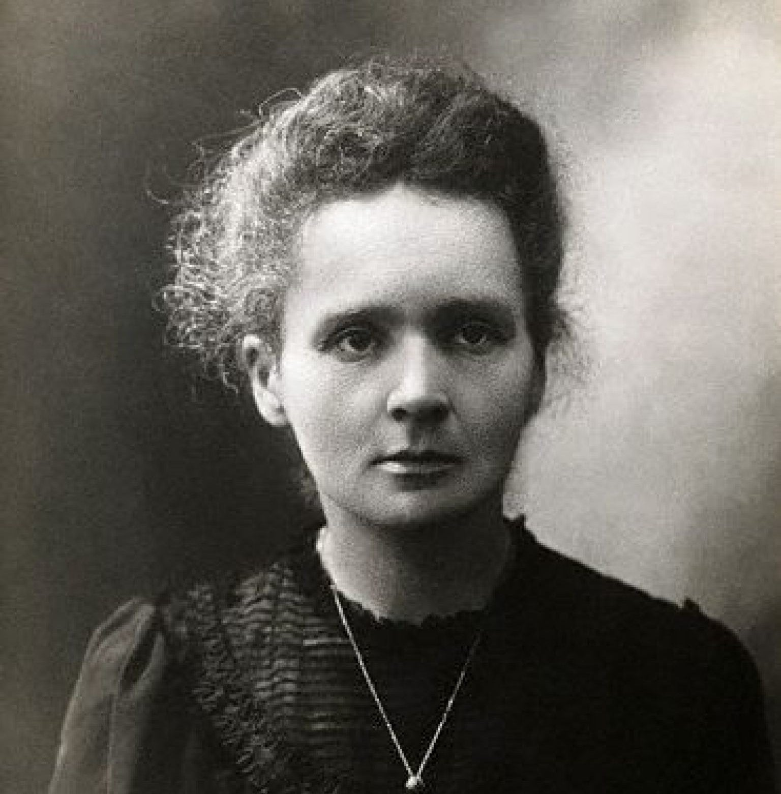 For anyone who isn't familiar with Marie Curie, she was a Polish-born French physicist and chemist who won the Nobel Prize twice for research on radioactivity.