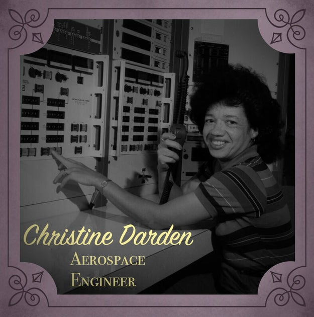 Christine Concile Mann Darden (1942-present), an aerospace engineer who led NASA's Sonic Boom Group.