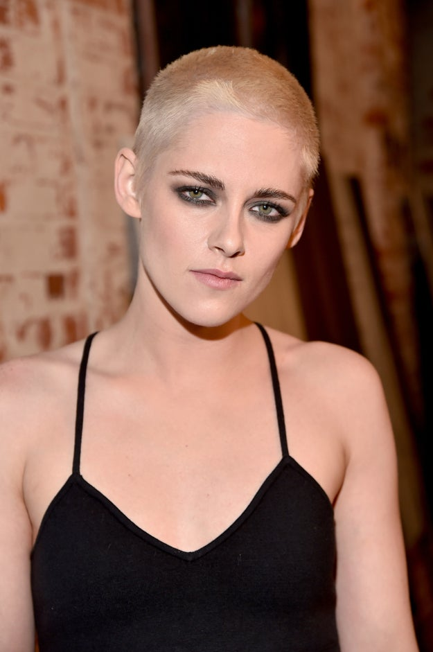 Kristen Stewart's new hair!