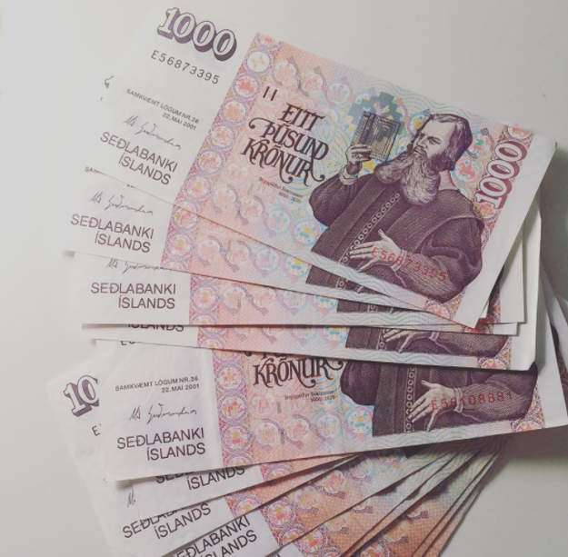 You can pay for nearly everything by credit card, so don't worry about exchanging your money for krónas.