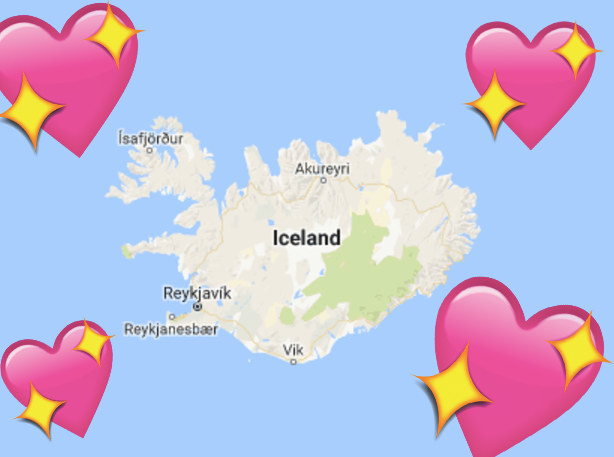 Iceland is the most peaceful country in the WORLD, and that's pretty rad.