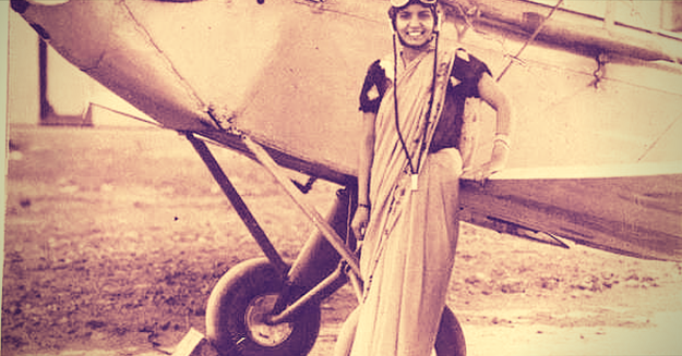 Captain Prem Mathur — the first woman pilot in India.