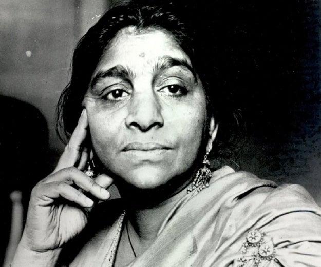 """Sarojini Naidu — the """"Nightingale of India."""""""