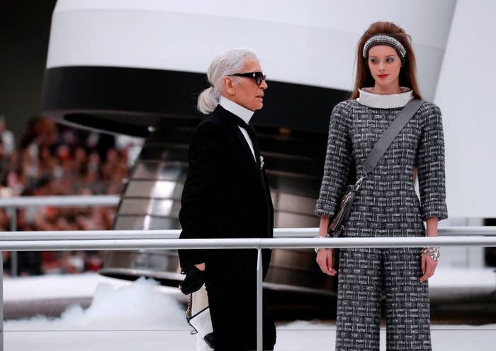 Chanel are known for putting on, shall we say, extravagant shows.