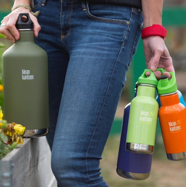 A stainless steel bottle to help you drink more water, feel better, and save the environment.