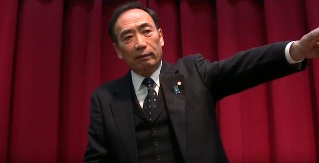 「この学校は日本民族にとって必要な学校であります」