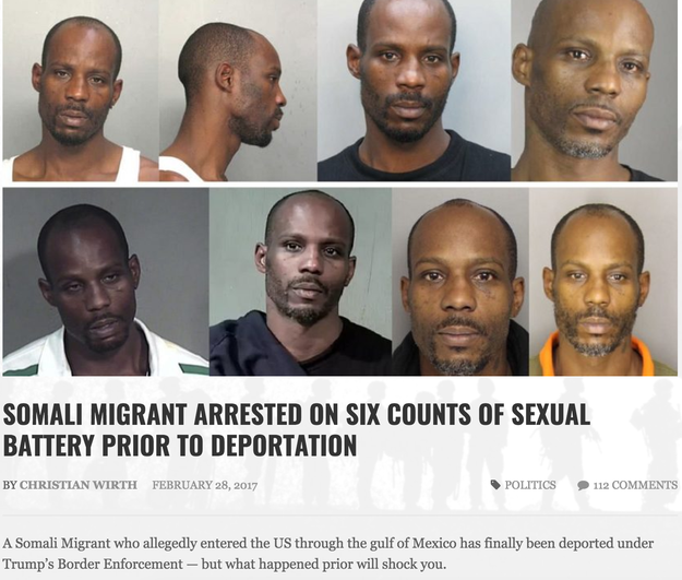 """Breitbart Insider, a fake, parody news site of Breitbart, published a story in late February claiming a Somali immigrant was arrested on six counts of sexual battery before he was """"finally [...] deported under Trump's Border Enforcement."""""""