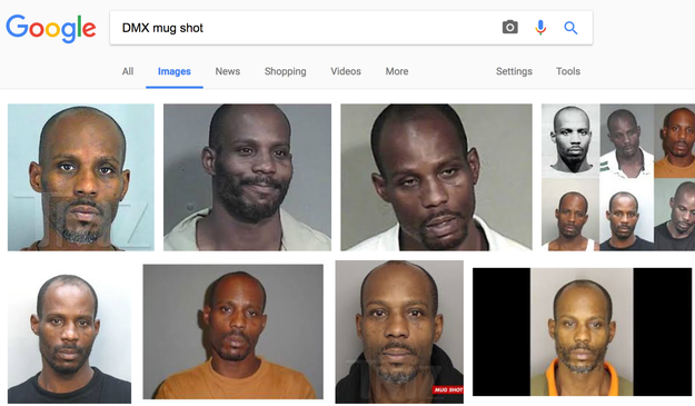 Another problem: Breitbart Insider ran the story with the mug shots of rapper DMX.