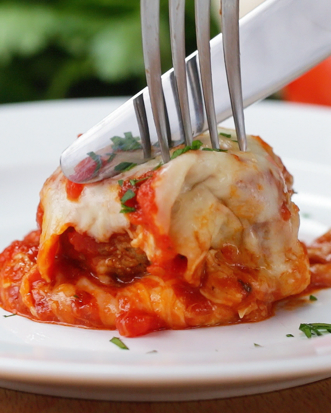 Cheesy Meatball Bake