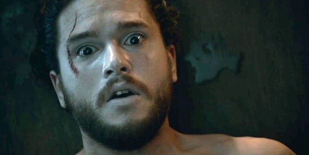 And in case you've forgotten, a ton of stuff happened in Season 6 of GOT. For example, Jon Snow was resurrected from the dead.