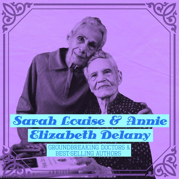Sarah Louise and Annie Elizabeth Delany