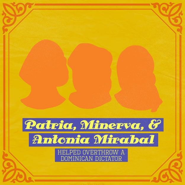 Patria, Minerva, and Antonia Mirabal