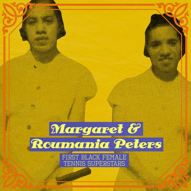 Margaret and Roumania Peters