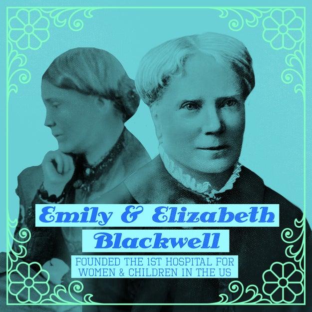 Emily and Elizabeth Blackwell