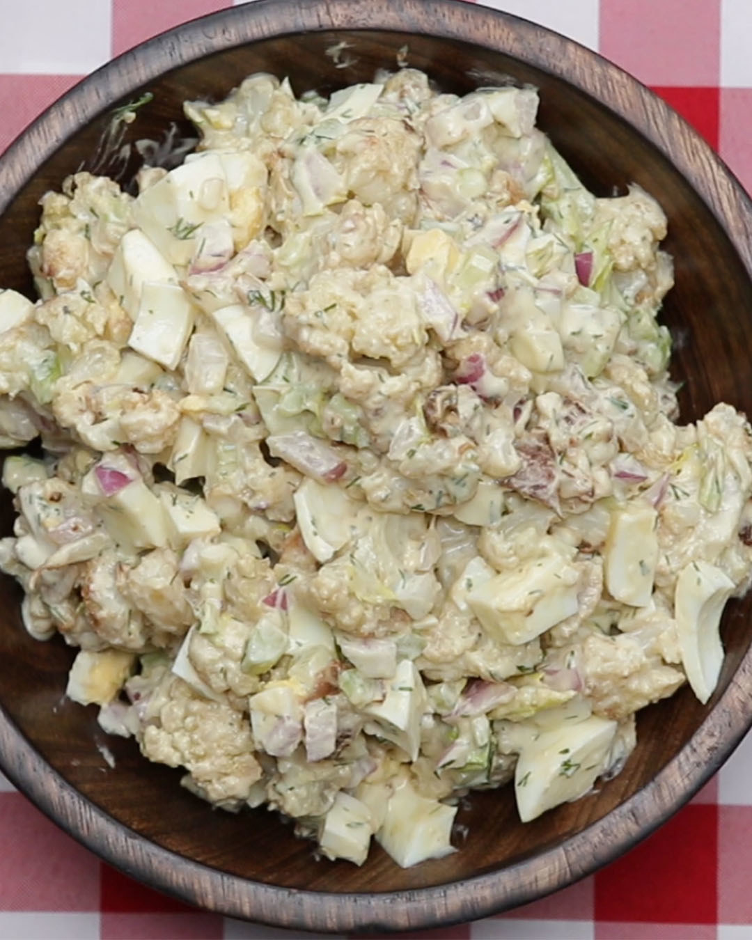 """This Cauliflower """"Potato"""" Salad Is Low-Carb And Delicious"""