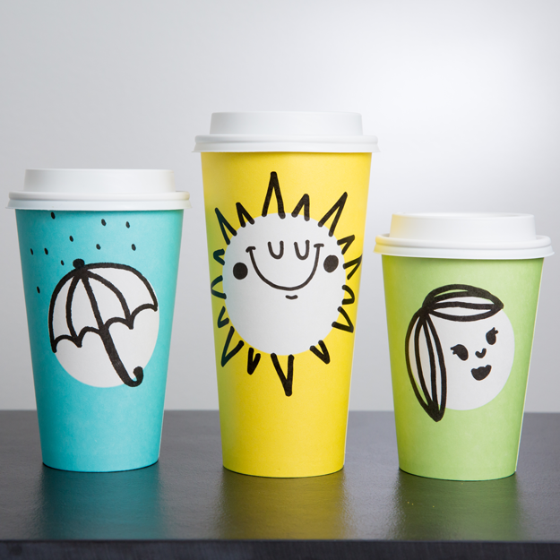Well, reset your memory because the new cups Starbucks is rolling out for spring look PRETTY different.