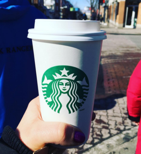 You can probably imagine what a Starbucks cup looks like with your eyes closed, yes?